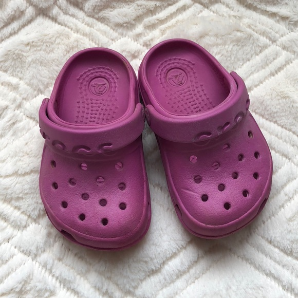 CROCS Shoes | Baby Girl Magenta Pink Sz